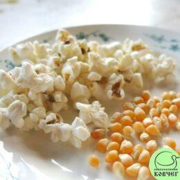 Семена кукурузы лопающейся Белое облако